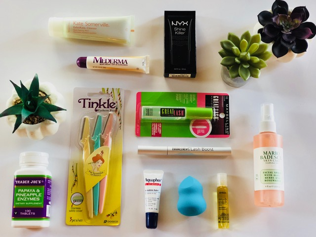 My favorite beauty products!