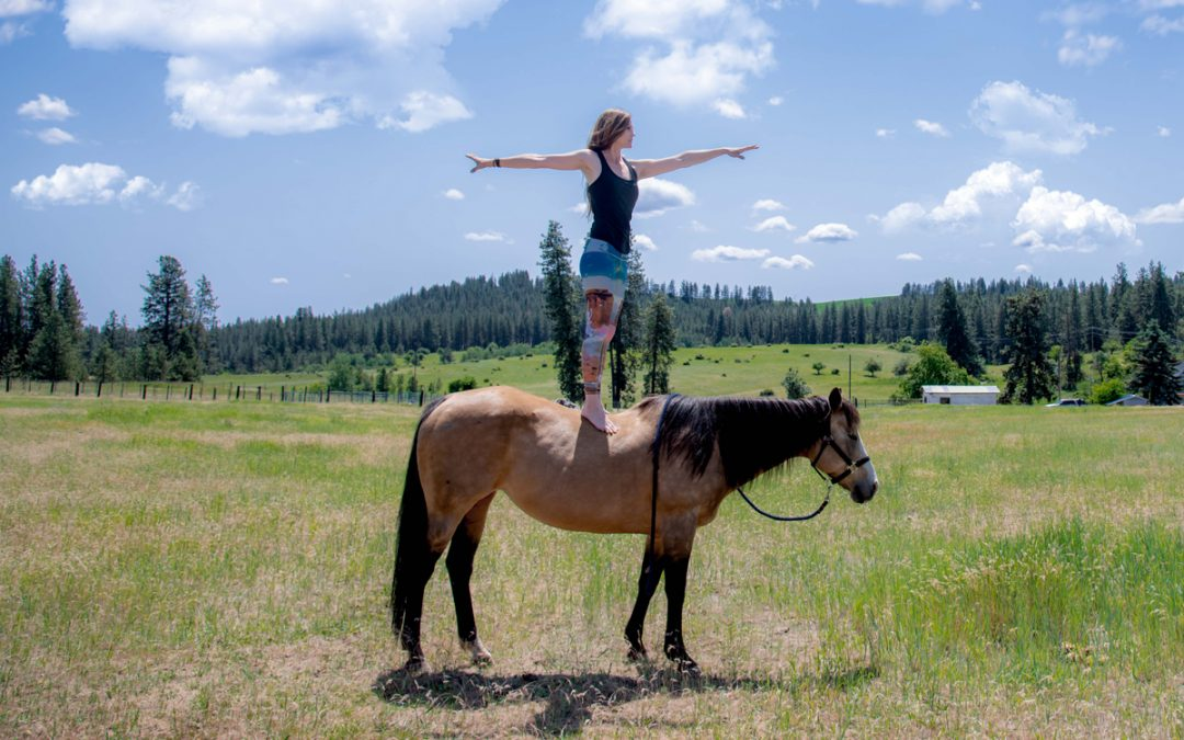 Horseback Yoga: A Lifetime of Love on Four Legs